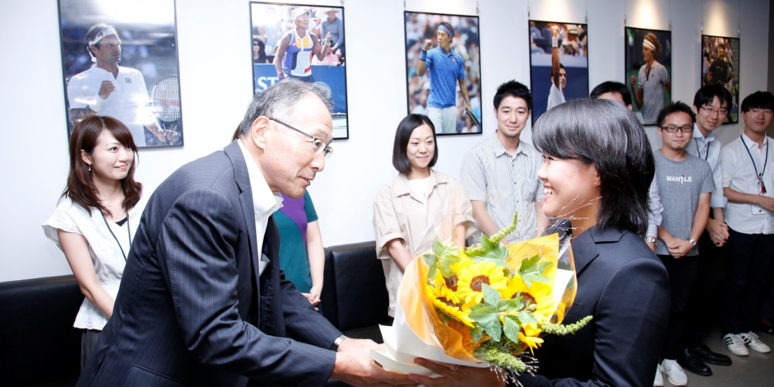 LPGA女子ゴルフツアーで躍動する日本の19歳、畑岡奈紗選手がWOWOWに来社されました!