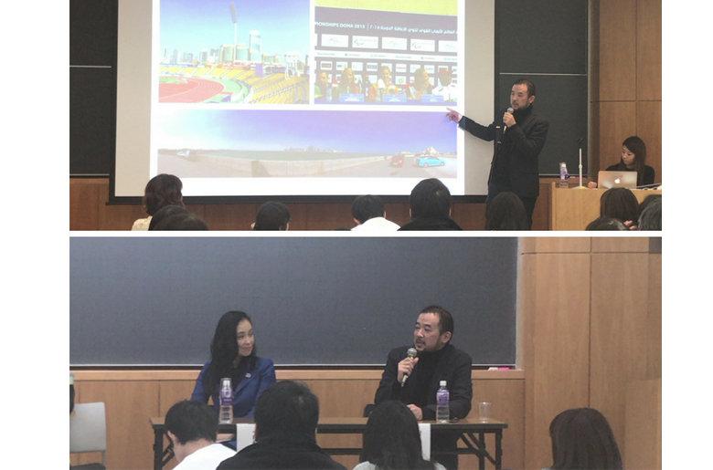 立教大学ウェルネス研究所主催「メディアのプロがパラリンピックの楽しみ方を教えます」講演参加