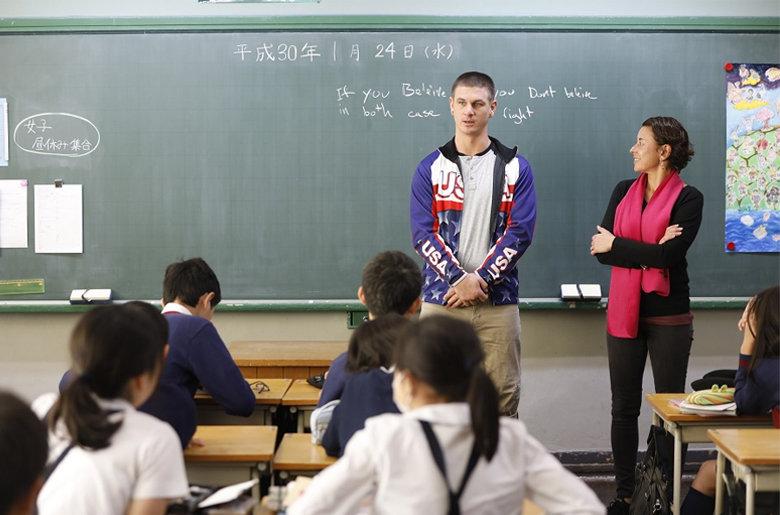 都内小学校での特別授業開催