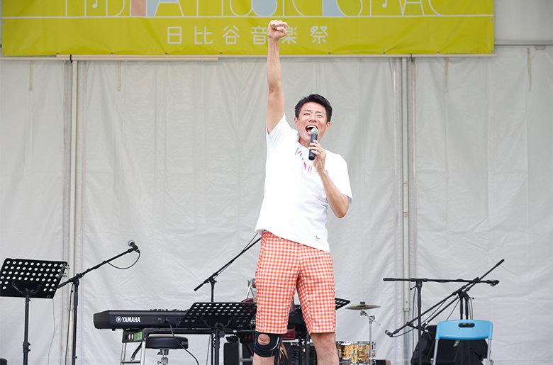 ノーバリアオンラインLIVE 2020、MC 松岡修造コメント到着!