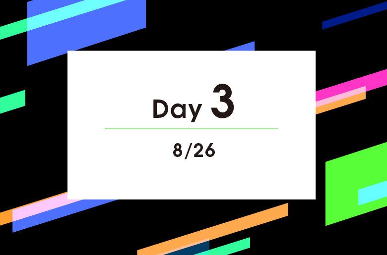 DAY3 競技スケジュール  / 試合結果